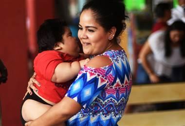 Luis Manuel, el bebé mexicano que a los 11 meses pesa 28 kilos