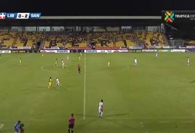 Fútbol Nacional: Liberia 0 - 2 Santos