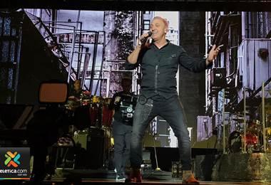 Franco de Vita cantó sus mejores éxitos en su presentación en Costa Rica
