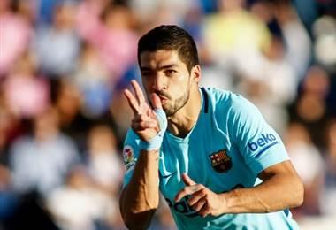 Luis Suárez, delantero del Barcelona