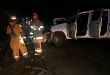 Accidente en Nicoya.