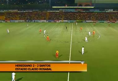 Fútbol Nacional: Herediano 2 - 2 Santos 18 Noviembre 2017