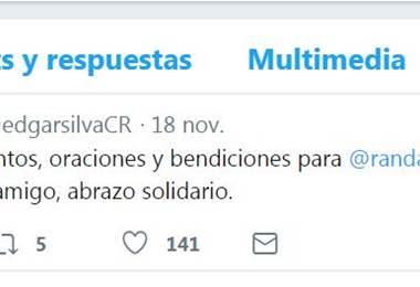 Edgar Silva en Twitter