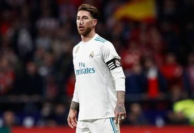 El Real Madrid no confirmó cuánto tiempo estará fuera Ramos. realmadrid.com