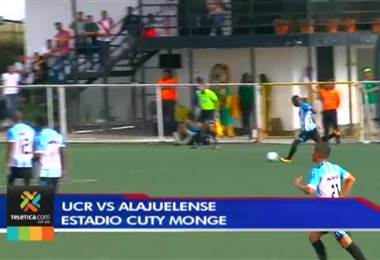 Fútbol Nacional: UCR 0 - 1 Alajuelense 18 Noviembre 2017