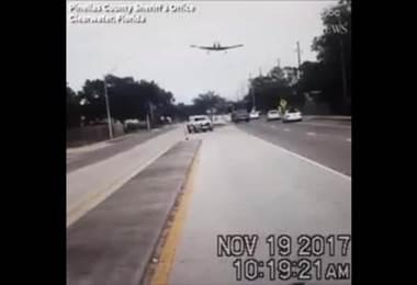 Captan aterrizaje forzoso de avioneta