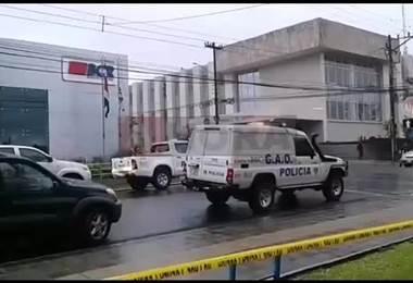 Amenaza de bomba en los tribunales en San Carlos