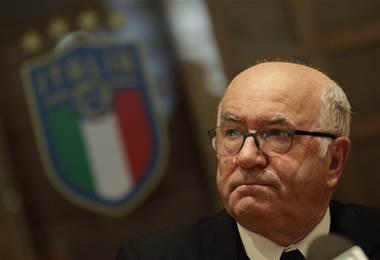 Carlo Tavecchio, ahora expresidente presidente de la Federación Italiana de Fútbol (FIGC).