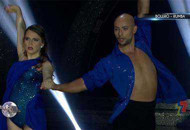 Sophía Rodríguez bailó merengue y rumba en la Semifinal de Dancing With The Stars