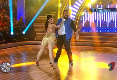 Gustavo Gamboa se desarmó en Dancing With The Stars con un jive y un paso doble