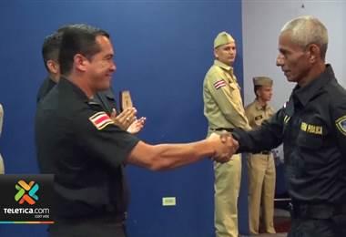 Ministerio de Seguridad reconoce la buena labor de los policías en Puntarenas