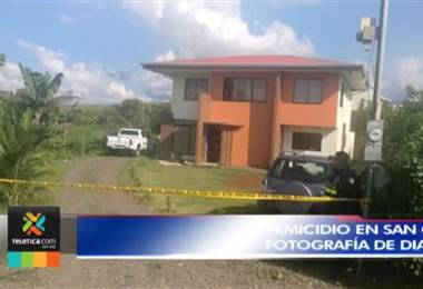 Mujer asesinada por su pareja en San Carlos era enfermera y madre de tres hijos