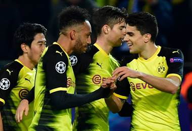 Borussia Dortmund quedó eliminado de la UEFA Champions League.