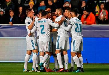 Real Madrid se clasificó a los octavos de final de la Champions League.