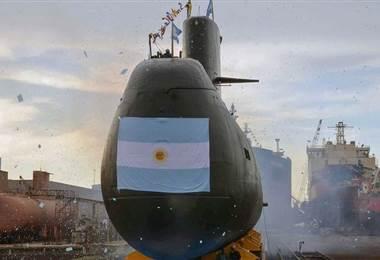 submarino militar desaparecido con 44 personas a bordo en Argentina