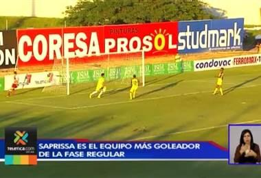 Saprissa es el equipo más goleador de la fase regular del Campeonato Nacional