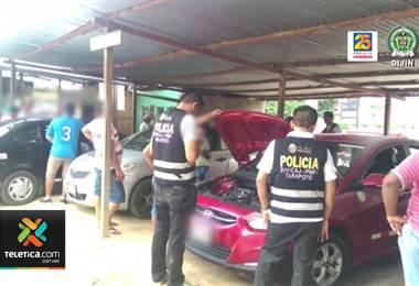 Costa Rica fue parte de un operativo latinoamericano para desarticular banda de roba carros