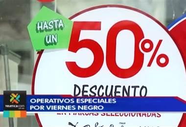 """Tránsito no permitirá carros mal estacionados cerca de centros comerciales en """"viernes negro"""""""
