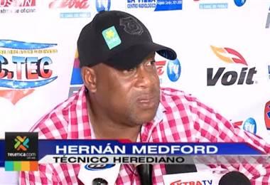 Hernán Medford es el técnico más ganador del ámbito local en la última década