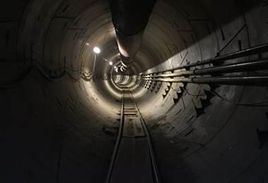Elon Musk, dueño de Tesla, ya construyó una primera etapa de su túnel en Los Ángeles