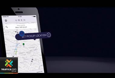 Costa Rica es uno de los países donde más se usa el servicio de Uber