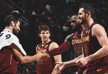 LeBron James guío a los Cavs a una nueva victoria. Cleveland Cavaliers en Facebook