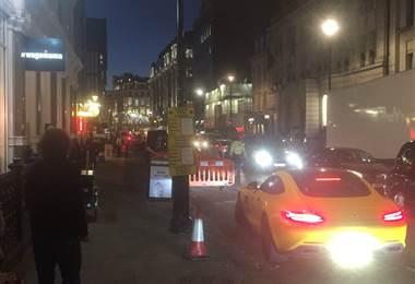 Una estación de metro es evacuada en Londres por un incidente