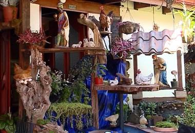 Portal navideño es toda una tradición navideña en Ciudad Quesada
