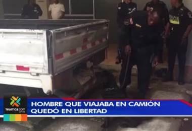 Dejan en libertad y sin medidas cautelares a sospechoso de transportar 321 kilos de cocaína