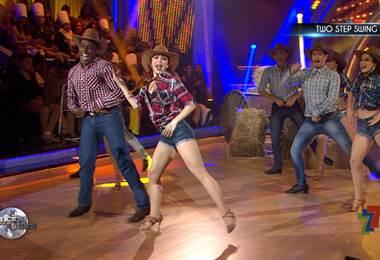 Ftiz se movió al ritmo del merengue, libre y two step swing en la final de Dancing With The Stars