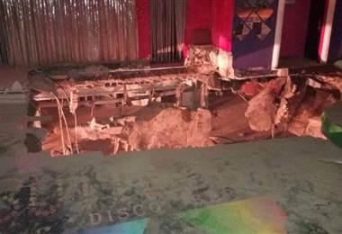 El colapso de una pista de baile de un club nocturno en Tenerife causa 40 heridos