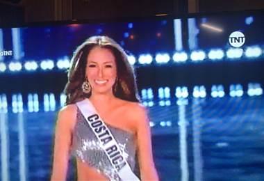 Elena Correa Miss Costa Rica en Miss Universo