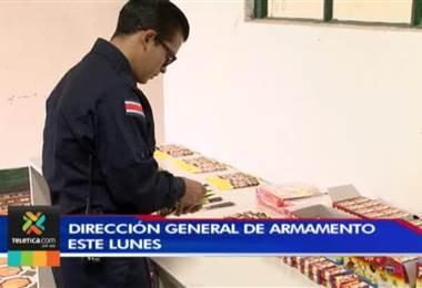 Pólvora decomisada en el sur del país tiene 88.500 unidades
