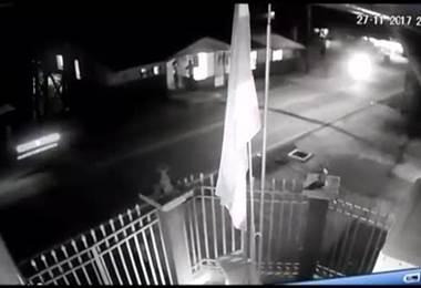 Cámara capta mortal atropello de menor de edad en Alajuela