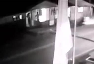 Cámara capta mortal atropello de menor de edad en Río Cuarto