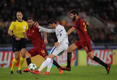 Álvaro Morata, jugador del Chelsea.|Chelsea en Facebook