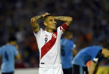 Paolo Guerrero, capitán de la Selección de Perú  Archivo.
