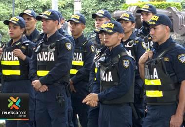 Más de 1.500 policías vigilan desde ya San José por pago de aguinaldo y fiestas navideñas
