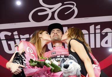 Tom Dumoulin, ciclista holandés ganador del Giro de Italia 2017.