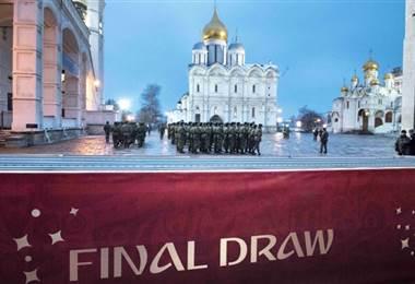 Kremlin lugar del sorteo de Rusia 2018.|AFP