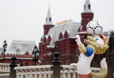 Zabivaka, mascota del Mundial de Rusia 2018.