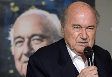 Joseph Blatter, expresidente de la FIFA  Archivo.