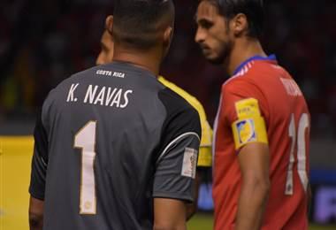 Keylor Navas y Bryan Ruiz no estarán en los amistosos contra España y Hungría |Julio Naranjo.
