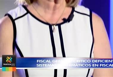 Emilia Navas critica los deficientes sistemas informáticos para seguir casos de corrupción