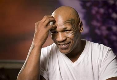 El campeón estadounidense de boxeo, Mike Tyson.