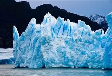 Deshielo de glaciares patagónicos amenaza con acelerar efectos del cambio climático