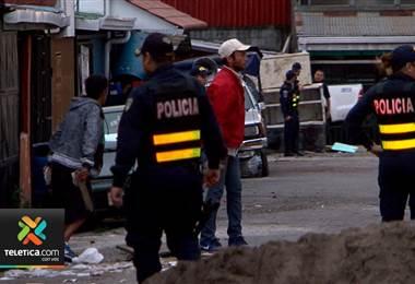 Fuerza Pública tomó por segunda vez en esta semana la ciudadela 25 de Julio en Hatillo