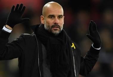 Pep Guardiola, técnico del Manchester City.|BBC Mundo