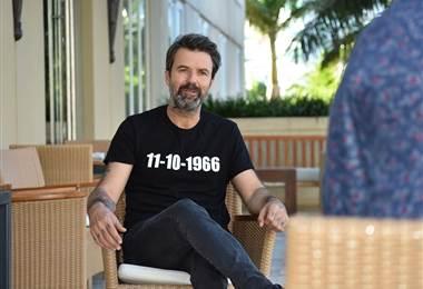 El cantante y compositor de Jarabe de Palo, Pau Donés |Julio Naranjo.
