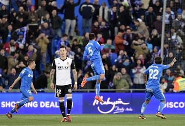 Valencia sufrió la primera derrota de la temporada ante el Getafe |AFP.